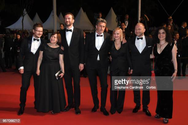 Producer Ewa Puszczynska, actor Tomasz Kot, director Pawel Pawlikowski, actress Joanna Kulig, actor Borys Szyc, producer Tanya Seghatchian and guest...