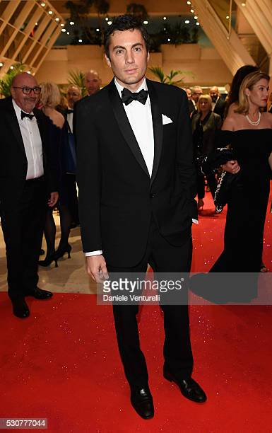 Producer Fabian Basabe arrives at the Opening Gala Dinner during The 69th Annual Cannes Film Festival on May 11 2016 in Cannes France