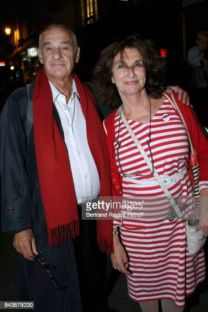 Producer Fabienne ServanSchreiber and her husband Henri Weber attend the Richard Wentworth a la Maison Alaia Exhibition Opening at Azzedine Alaia...