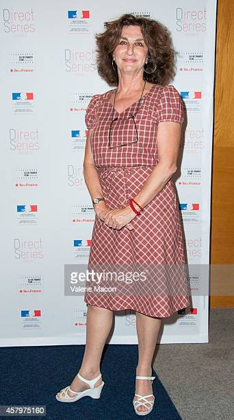 Producer Fabienne ServanSchreiber attends The Cultural Services Of The Embassy Of France Presents Direct To Series Season 2 Screenings Of Witnesses...