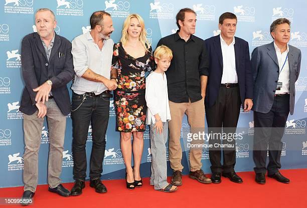 Producer Fabio Conversi, director Ivano De Matteo, actress Barbora Bobulova, actor Lupo De Matteo, actor Valerio Mastandrea, producer Marco Poccioni...