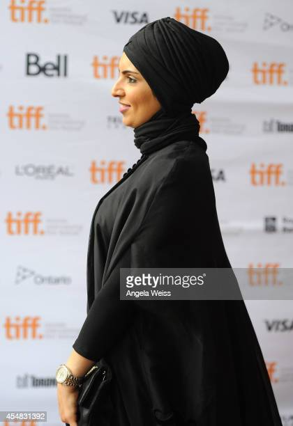Producer Fatma Al Remaihi attends the 'Kahlil Gibran's The Prophet' premiere during the 2014 Toronto International Film Festival at Ryerson Theatre...
