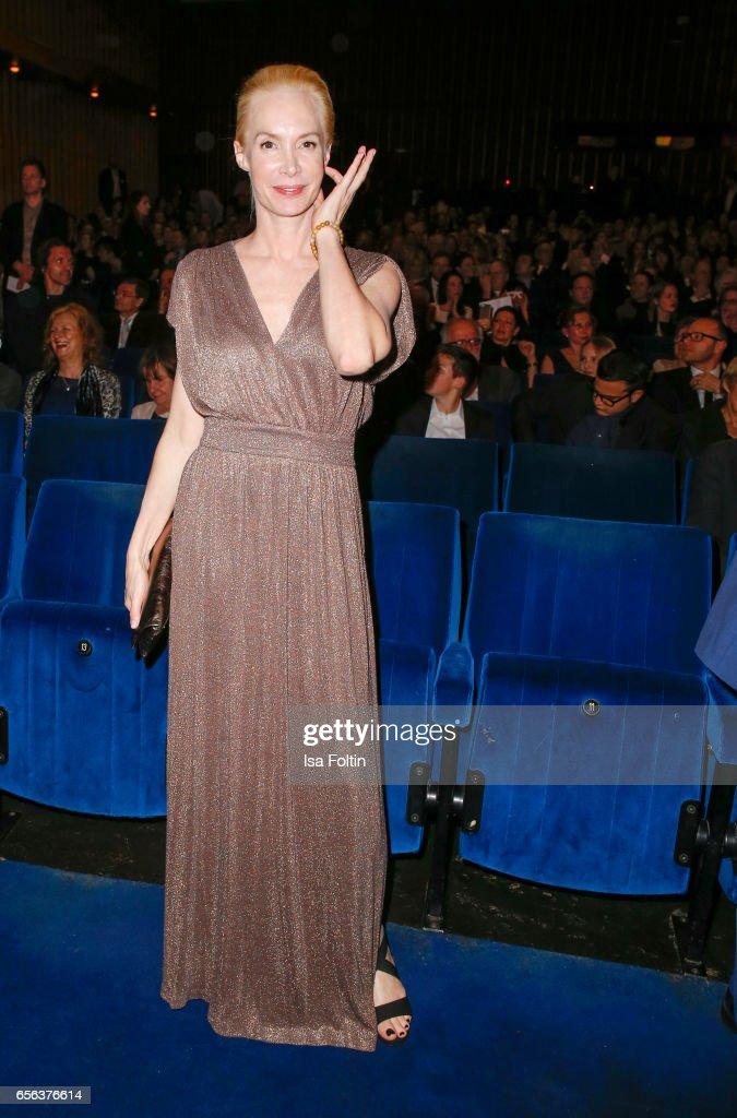 Producer Feo Aladag attends the Deutscher Hoerfilmpreis at Kino International on March 21, 2017 in Berlin, Germany.