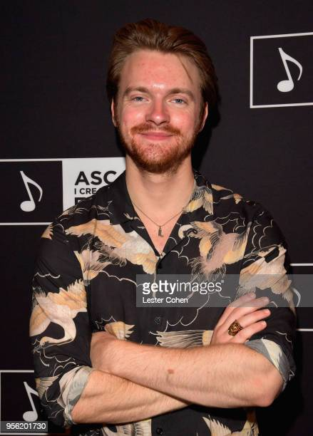 Producer Finneas O'Connell attends the 'Billie Eilish and Finneas O'Connell in Conversation' panel at The 2018 ASCAP I Create Music EXPO at Loews...