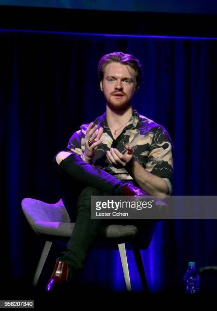 Producer Finneas O'Connell speaks onstage at the 'Billie Eilish and Finneas O'Connell in Conversation' panel at The 2018 ASCAP I Create Music EXPO at...