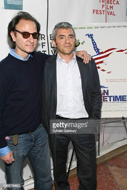 Producer Fisher Stevens and President of Miramax Daniel Battsek