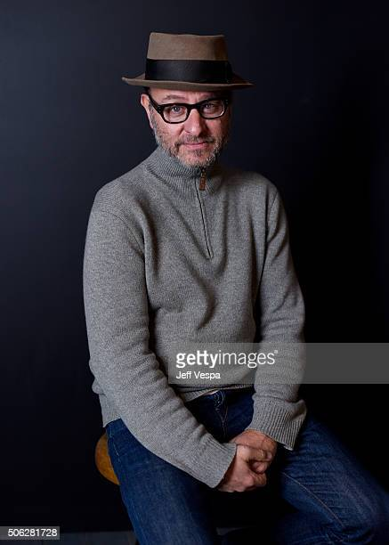 Producer Fisher Stevens from the film Sky Ladder The Art of Cai GuoQiang poses for a portrait during the WireImage Portrait Studio hosted by Eddie...