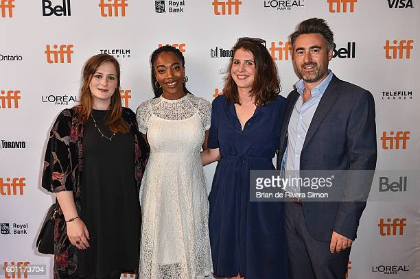 Producer Fodhla Cronin Actress Naomi Ackie Writer Alice Birch and Director William Oldroyd attend Lady Macbeth premiere during 2016 Toronto...