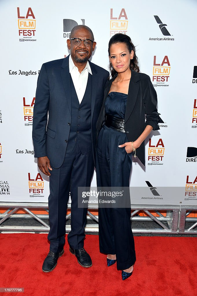 Producer Forest Whitaker (L) and Keisha Whitaker attend the 'Fruitvale Station' premiere during the 2013 Los Angeles Film Festival at Regal Cinemas L.A. Live on June 17, 2013 in Los Angeles, California.