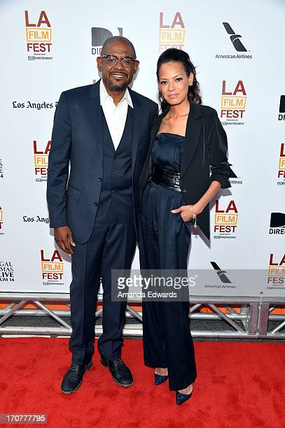 """Producer Forest Whitaker and Keisha Whitaker attend the """"Fruitvale Station"""" premiere during the 2013 Los Angeles Film Festival at Regal Cinemas L.A...."""