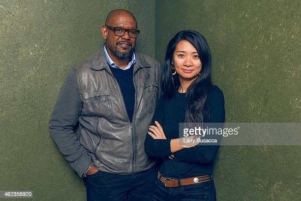 Producer Forest Whitaker and writer/director Chloe Zhao of 'Songs My Brothers Taught Me' pose for a portrait at the Village at the Lift Presented by...