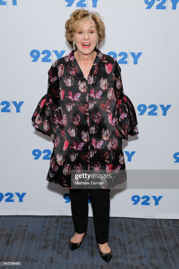Producer Fran Weissler attends 92nd Street Y Presents: The Women Of 'Waitress: The Musical' at 92nd Street Y on April 16, 2018 in New York City.