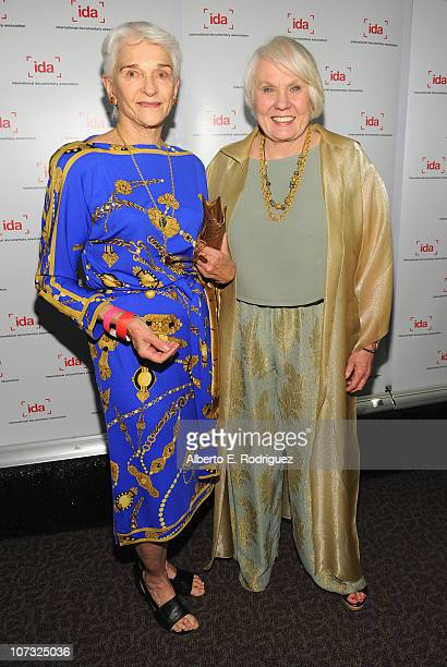 Producer Frances 'Sissy' Farenthold and director Mary Ann Smothers Bruni arrive at the International Documentary Association's 26th annual awards...