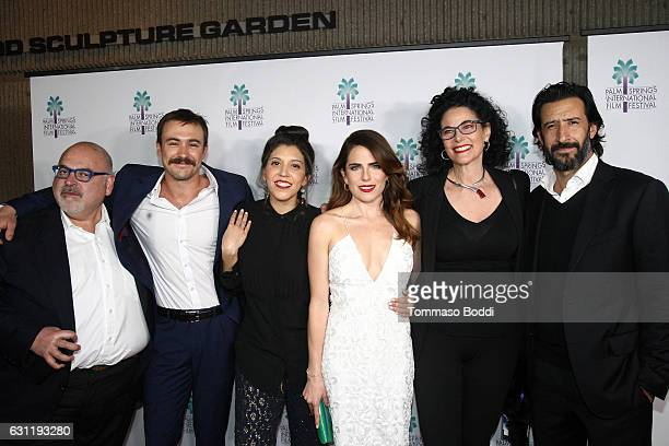 Producer Francisco Gonzalez Compean actor Ben O'Toole Director Catalina Aguilar actress Karla Souza Hebe Tabachnik and actor Jose Maria Yazpik attend...