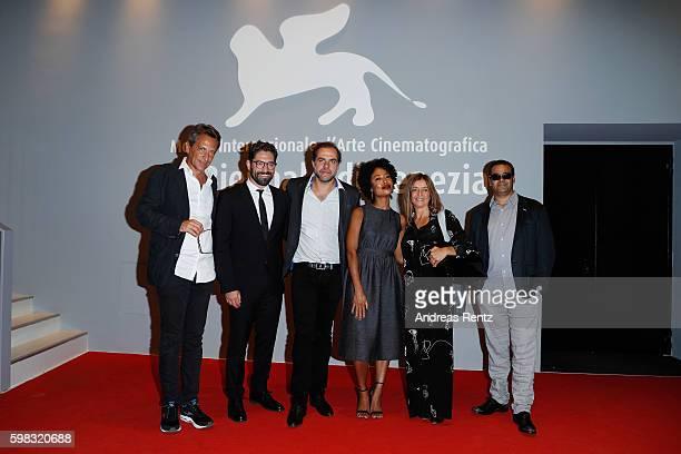 Producer Francois d'Artemare actor Nuno Lopes director Marco Martins actress Mariana Nunes producer Maria Joao Mayer and director of cinematography...