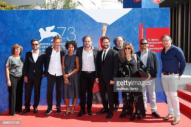 Producer Francois d'Artemare actress Mariana Nunes director Marco Martins actor Nuno Lopes guest producer Maria Joao Mayer director of cinematography...