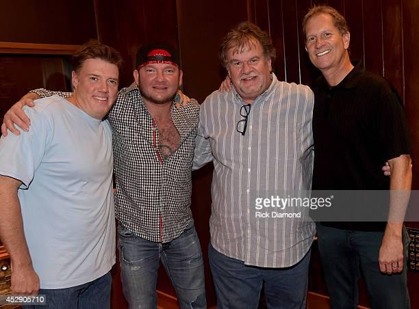 Producer Frank Liddell Singer/Songwriter Stoney Larue President eOne Music Nashville Mike Olsen and VP of Music eOne Music Nashville Van Fletcher...