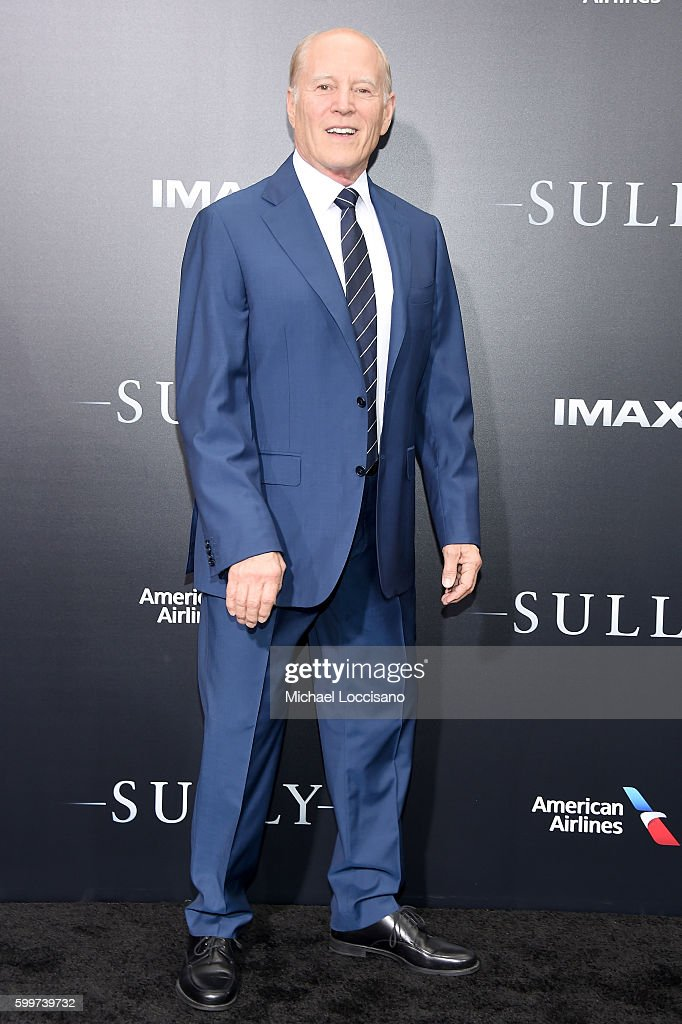 Producer Frank Marshall attends the 'Sully' New York Premiere at Alice Tully Hall on September 6, 2016 in New York City.