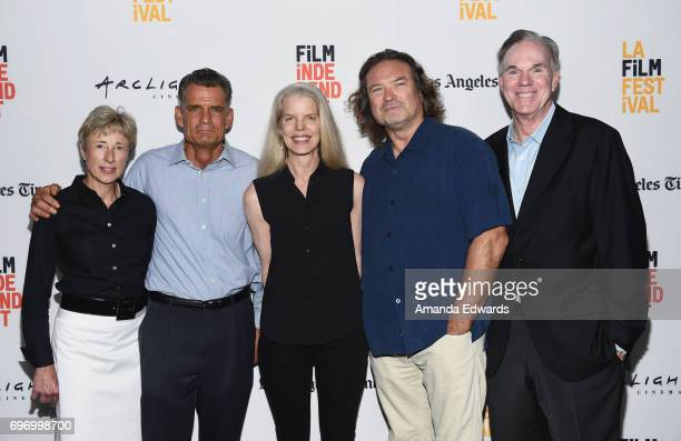 Producer Gabriele Hayes Judge Craig Mitchell producers Carol Fenelon and Dana Christiaansen and filmmaker Mark Hayes attend the 2017 Los Angeles Film...