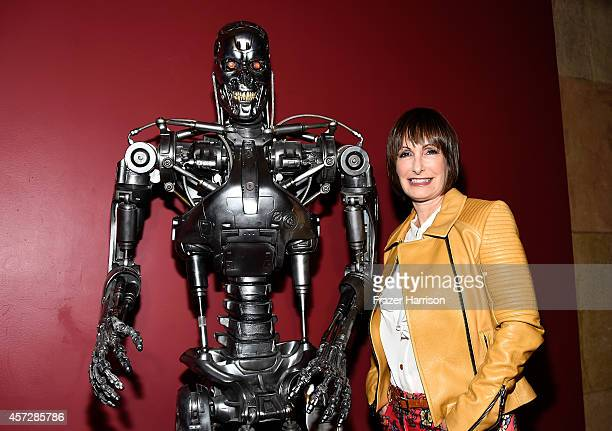 Producer Gale Anne Hurd attends the American Cinematheque 30th Anniversary Screening Of The Terminator at the Egyptian Theatre on October 15 2014 in...