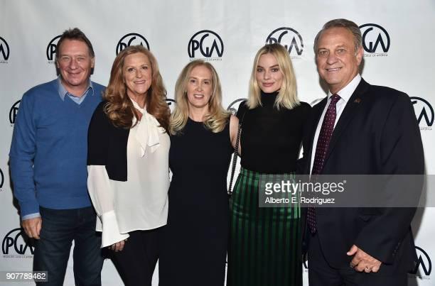 Producer Gary Luchesi PGA President Lori McCreary PGA Associate National Executive Director/COO Susan Sprung producer Margot Robbie and PGA National...