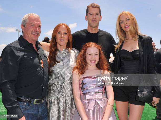 Producer Gary Magness producer Sarah SiegelMagness director John Schultz actress Jordana Beatty and actress Heahter Graham attend the after party for...