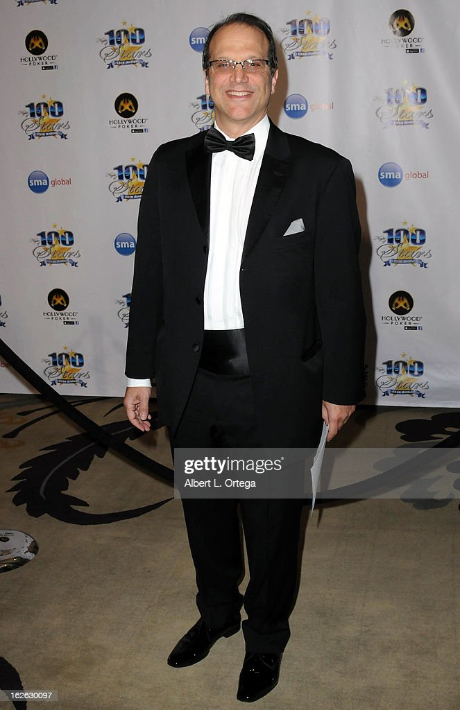 Producer Gary Michael Walters arrives for the 23rd Annual Night Of 100 Stars Black Tie Dinner Viewing Gala held at Beverly Hills Hotel on February 24, 2013 in Beverly Hills, California.