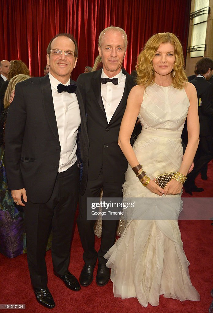 producer Gary Michael Walters, Director Dan Gilroy and actress Rene Russo and guest attend the 87th Annual Academy Awards at Hollywood & Highland Center on February 22, 2015 in Hollywood, California.