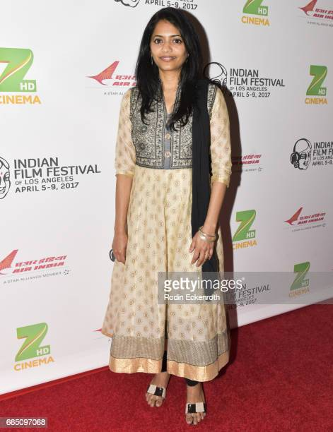 Producer Gayathri Thaikkendiyil Attends The Th Annual Indian Film Festival Of Los Angeles Opening Night At