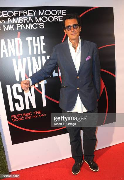 Producer Geoffrey Moore arrives for the Premiere Of 'And The Winner Isn't' at Laemmle Music Hall on December 8 2017 in Beverly Hills California