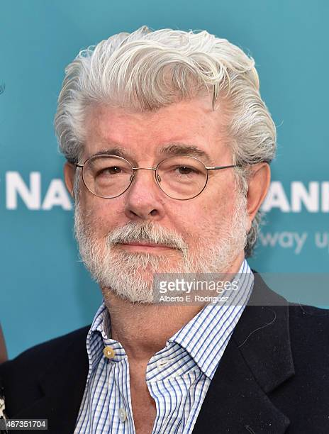 Producer George Lucas attends The Geffen Playhouse's 'Backstage at the Geffen' Gala at The Geffen Playhouse on March 22 2015 in Los Angeles California