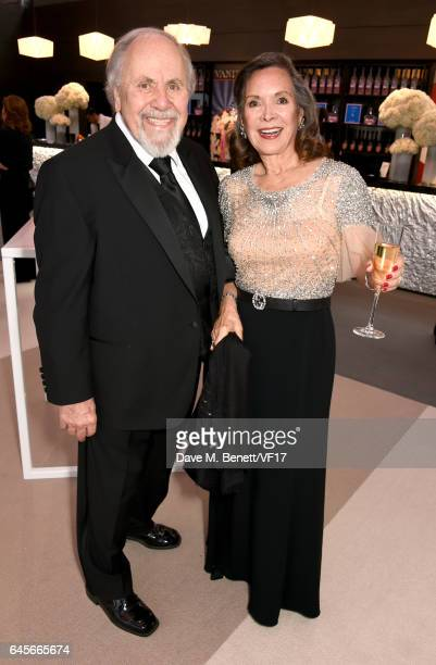 Producer George Schlatter and actor Jolene Brand attend the 2017 Vanity Fair Oscar Party hosted by Graydon Carter at Wallis Annenberg Center for the...