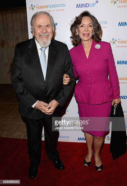 Producer George Schlatter and Jolene Brand attend Goldie Hawn's inaugural Love In For Kids benefiting the Hawn Foundation's MindUp program...