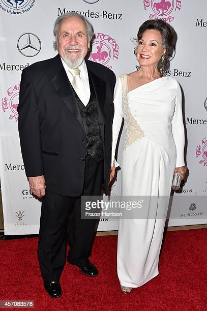 Producer George Schlatter and Jolene Brand attend the 2014 Carousel of Hope Ball presented by MercedesBenz at The Beverly Hilton Hotel on October 11...