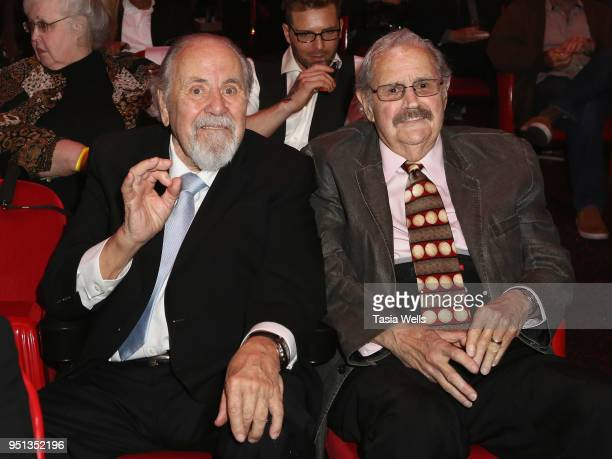 Producer George Schlatter attends the 13th Annual Los Angeles Jewish Film Festival opening night premiere of 'Sammy Davis Jr I've Gotta Be Me' on...