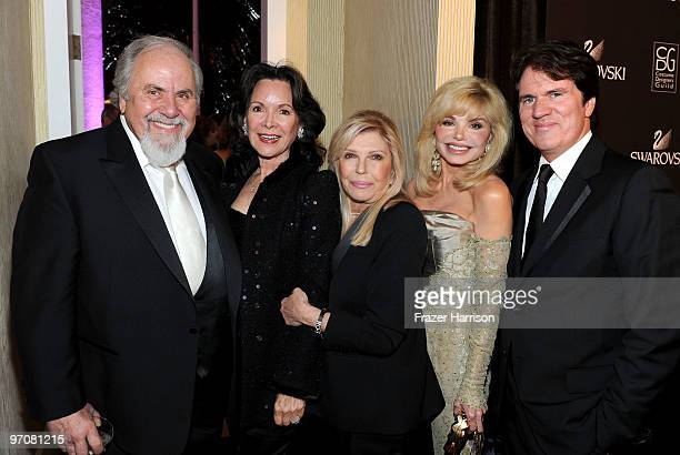 Producer George Schlatter, Jolene Brand, singer Nancy Sinatra, actress Loni Anderson and director Rob Marshall arrive at the 12th Annual Costume...