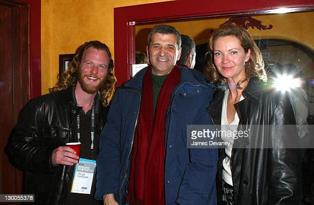 Producer George VanBuskirk Brian Mann and Joan Allen