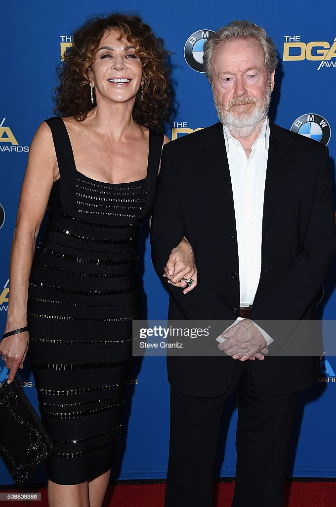 Producer Giannina Facio-Scott (L) and director Ridley Scott attend the 68th Annual Directors Guild Of America Awards at the Hyatt Regency Century Plaza on February 6, 2016 in Los Angeles, California.