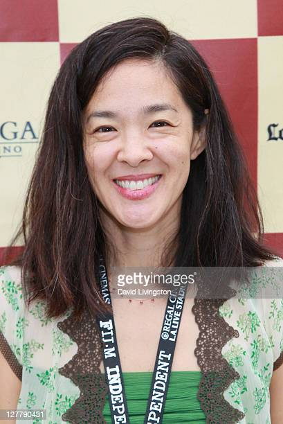 Producer Gina Kwon attends the Money Talks & Art Matters panel discussion sponsored by LMU School of Film and Television during the 2011 Los Angeles...