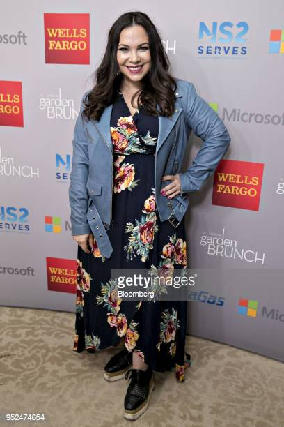 Producer Gloria Calderon Kellett attends the 25th Annual White House Correspondents Garden Brunch in Washington DC US on Saturday April 28 2018 The...