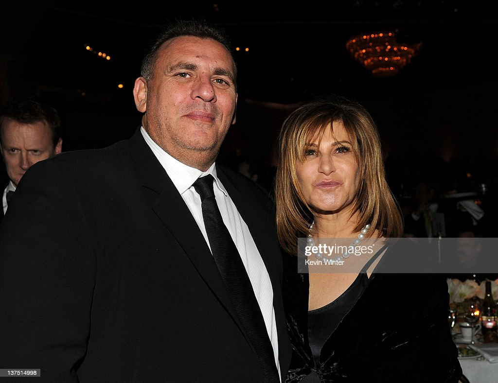 Producer Graham King (L) and Co-Chairman of Sony Pictures Entertainment Amy Pascal attend the 23rd annual Producers Guild Awards at The Beverly Hilton hotel on January 21, 2012 in Beverly Hills, California.