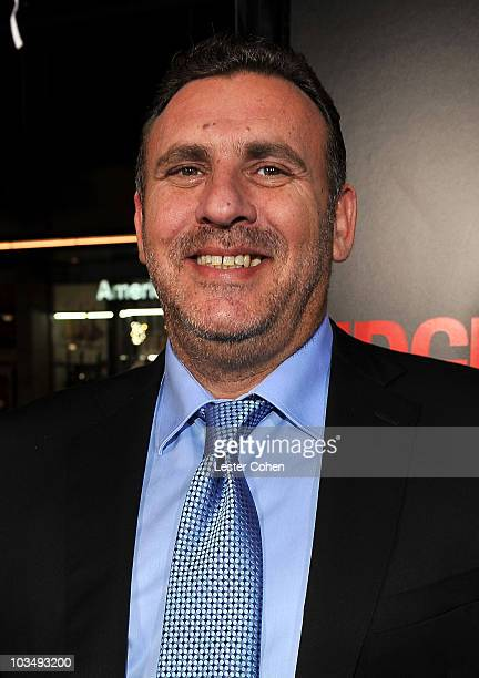 Producer Graham King arrives at the Edge Of Darkness premiere held at Grauman's Chinese Theatre on January 26 2010 in Hollywood California