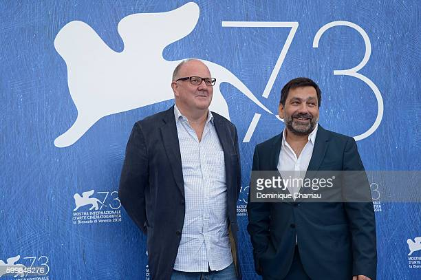 Producer Grant Hill attends the photocall of 'Voyage Of Time Life's Journey' during the 73rd Venice Film Festival at Palazzo del Casino on September...