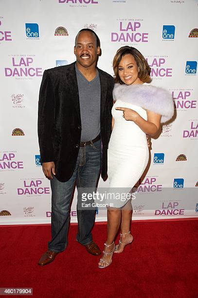 Producer Greg Carter and Actress LisaRaye McCoy attend the Los Angeles Premiere of the film Lap Dance at ArcLight Cinemas on December 8 2014 in...