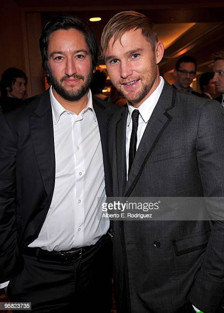 Producer Greg Shapiro and actor Brian Geraghty attend the 35th Annual Los Angeles Film Critics Association Awards at the InterContinental Hotel on...