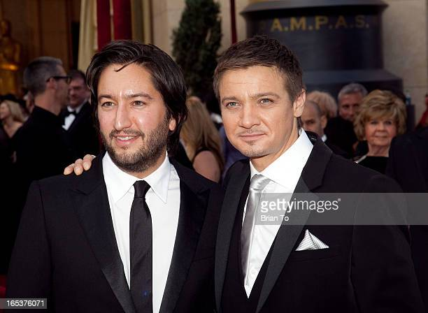 Producer Greg Shapiro and actor Jeremy Renner arrive at the 82nd Annual Academy Awards held at the Kodak Theatre on March 7 2010 in Hollywood...