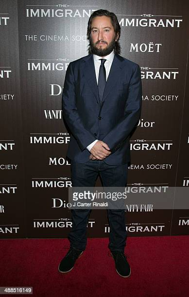 Producer Greg Shapiro attends the Dior Vanity Fair with The Cinema Society host the premiere of The Weinstein Company's The Immigrant at The Paley...