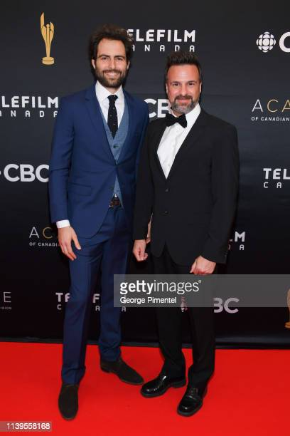 Producer Guillaume Colboc and Director Daniel Roby attend the 2019 Canadian Screen Awards Broadcast Gala at Sony Centre for the Performing Arts on...