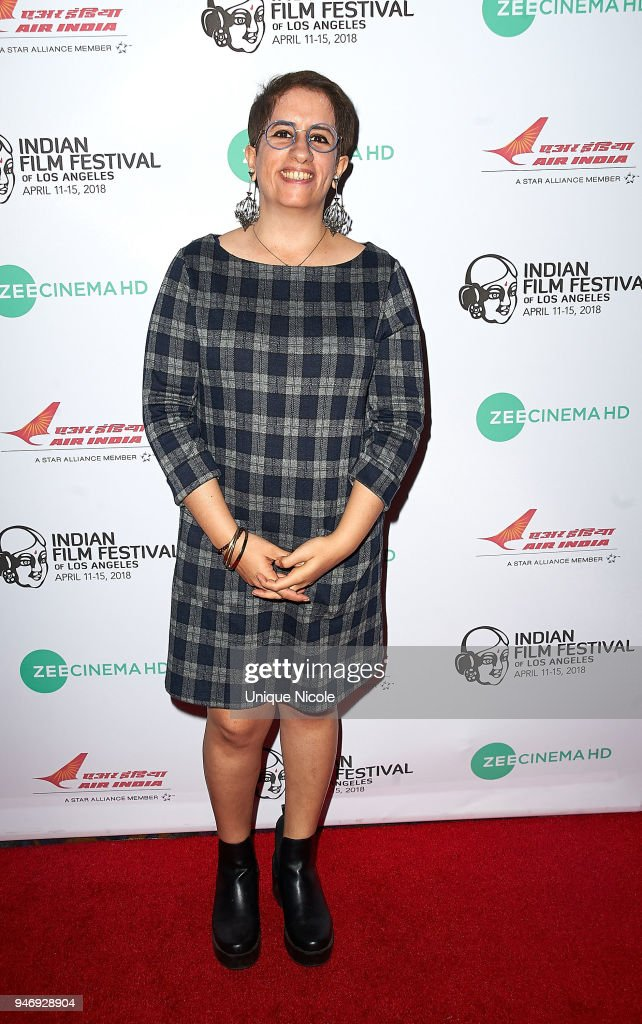 Producer Guneet Monga attends Closing Night Red Carpet 16th Annual Indian Film Festival Of Los Angeles at Regal Cinemas L.A. Live on April 15, 2018 in Los Angeles, California.