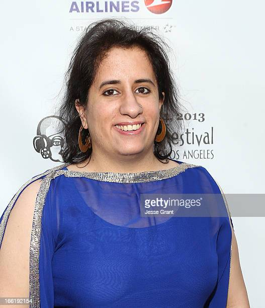 Producer Guneet Monga attends the Indian Film Festival of Los Angeles Opening Night Gala for Gangs Of Wasseypur at ArcLight Cinemas on April 9 2013...